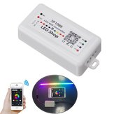DC5-24V SP108E Smart Wifi APP Controlador Dimmer para IC WS2811 WS2812B Magic Color LED Strip Light