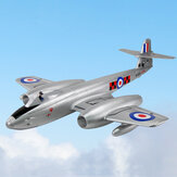 Dynam Gloster Meteor F.8 Meteor 1270mm Winspan Dual 70mm 6S 12-Blades Ducted EDF Jet EPO RC Самолет PNP