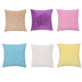 45X45cm Corduroy Pillow Case Colorful Cushion Cover Throw Home Sofa Decorations