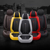 Durable PU Leather Car Seat Covers Cushion Universal Full Set for Auto