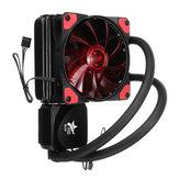 Liquid Refrigerador de CPU Sistema de refrigeração de água Ventilador de radiador único para INTER AMD
