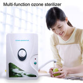 High Quality 600mg/h 220V 110V Ozone Generator Ozonator ionizer O3 Timer Air Purifiers Oil Vegetable Meat Fresh Purify Air Water