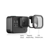 TELESIN CPL ensemble de filtres magnétiques protecteur d'objectif pour Gopro Hero 8 accessoires d'objectif de caméra d'action