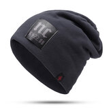 Mens Womens Cotton Thick Warm Knit Hat Beanie Cap