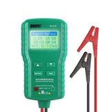 DUOYI DY219 12 В цифровой Авто Батарея тестер AH CCA напряжение тока Батарея анализатор нагрузки многофункциональный диагностический Авто ремонт