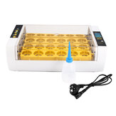 80W 24 Position Digital Mini Fully Automatic Poultry Incubator Eggs Poultry Hatcher US/EU Plug