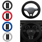 Car Accessory Steering Wheel Covers Protector Universial Luxury w/ Shoulder Pads