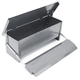 16.4L 51x21x23cm Automatic Aluminum Poultry Feeder Smart Feeder Chicken And Duck Feeder