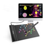 Tablet grafico disegno VEIKK S640 6x4 Pollici Tablet con penna digitale senza penna Penna digitale 8192