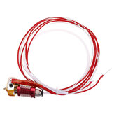 12V / 24V 40W Extruder Hot End Kit 1.75mm 0.4mm Nozzle Untuk Creality 3D CR-10 3D Printer