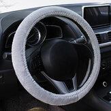 Tampa do volante do carro de pelúcia de inverno Acessórios para carro Four Seasons GM Grip