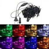 15 متر 150 ليد سلسلة الجنية ضوء في عيد الميلاد حفل زفاف مصباح 220 فولت