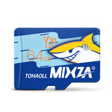 MIXZA Shark Edition Speicherkarte 64GB TF Card U3 Class10 Für Smartphone Kamera MP3