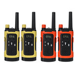 2PCS Portable Outdoor HD Rufen Sie Wireless Children Walkie Talkie Intercom Electronic Toys mit LED Light an