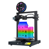 LOTMAXX SC-10 DIY 3D Printer Kit 235*235*280mm Print Size Support Filament Detecticon/Resume Print with Large LCD Dispaly/7 Languages for Choose