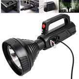 XANES® A08 10W 2000lm Long Shoot Strong OSL Spotlight with 18650 Li-ion Battery USB Rechargeable&Power Display LED Handheld Flashlight Home Tools