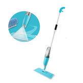 Husholdning Flat Spray Mop Kombination Trægulv Keramiske fliser Tør Mop Rengøringsværktøj med rengøringsstofhoved