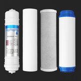 Conjunto de filtro de água de substituição de 4pcs conjunto de purificador de água de sistemas de osmose reversa