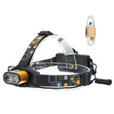 XANES 1500 Lumens T6 Headlamp Waterproof Hiking Fish Bike Lamp