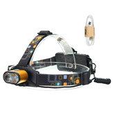XANES1500LumensT6HeadlampWaterproof Hiking Fish Bike Lamp