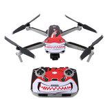 Sunnylife DJI Mavic Air 2 RC Quadcopter用の防水アンチスクラッチドローンボディ&リモートコントローラーPVCステッカー