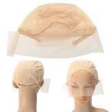 Czapka z peruką do peruk Czapka z elastycznymi włosami Siatka regulowana
