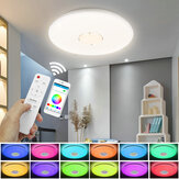 13'' WIFI Smart LED Ceiling Light RGB bluetooth Music Speaker Dimmable Lamp