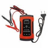110-220V Cargador Batería inteligente 12V 5A Reparación de impulsos Batería Cargando con LCD Pantalla