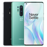 OnePlus 8 Pro 5G Global Rom 8GB 128GB Snapdragon 865 6,78 tommer QHD + 120Hz Oppdateringsfrekvens IP68 NFC Android 10 4510mAh 48MP Quad Rear Camera Smartphone