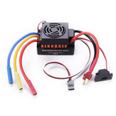 60A Brushless Waterproof ESC Electric Speed Controller for 1/10 RC Car Parts