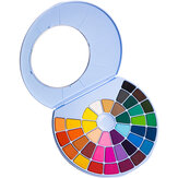 MIYA 24/38 Colors Solid Water Color Paint Set Watercolor Powder Cake Water Pigment Painting Hand Gouache Art Supplies For Student Beginner
