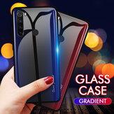 Protector de vidrio templado de color degradado de fibra de carbono Bakeey Caso para Xiaomi Redmi Note 8 no original