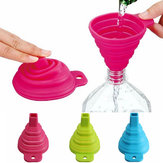 Silicone Dilipat Mengisi Mini Cair Minyak Saluran Air Kitchen Tools Filter