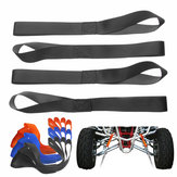 Soft Loop Tie Down Straps Motocicleta ATV Snowmobile Dirt Bike Tie Downs