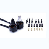 Flashhobby BX1306 1306 4000KV CW / CCW Brushless Motor untuk Multicopter