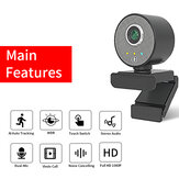 HD 1080P Webcam WDR Al AutoTracking Camera Video Conference USB Cams with Microphone