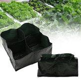Bahçe Asılı Büyümek Çantalar Ekici Konteyner ile Outdoor Kapalı Sebzeler için Dikim Saksıları