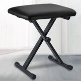 Piano Stool Portable Adjustable 3 Way Keyboard Folding Seat Bench Chair Cushion