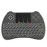 H9 Wireless Colorful Backlit Ajustable Brightness 2.4GHz Touchpad Air Mouse Mini Keyboard