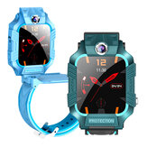 Bakeey Z8 Smart Watch 1.44 inch Touch Screen LBS Positioning Tracking SOS Front + Rear Rotational Dual Camera IP67 Waterproof Kids Smart Watch Phone