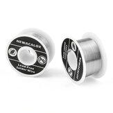 NEWACALOX 2 pièces 100g 1mm bobine de fil de fer à souder ligne de plomb en étain FLUX 2.0% fil à souder argent pour le soudage