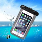 Universele PVC IPX8 Waterdichte Clear Tough Screenn Telefoon Case Onder Waterdroger Bag Surfende Zwempak