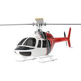 FLY WING Bell 206 Class 450 6CH Silnik bezszczotkowy GPS Skala utrzymywania wysokości w punkcie stałym Helikopter RC PNP