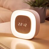 Smart X901 Bedroom Night Light Alarm Relógio Touch Sensor LED Soneca digital Relógio Lâmpada de despertador de Xiaomi Youpin