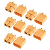 5Pairs / 10pcs XT60 Plug Male Female Bullet-stik til RC Drone Multirotor FPV Racing Batteri