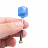 Turbowing 5.8G 2.5dBi Lollipop FPV Antena MMCX-L Plug para FPV Racing RC Drone