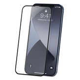 Baseus for iPhone 12 Pro Max / for iPhone 12 / For iPhone 12 Pro / For iPhone 12 Mini Front Film 2PCS 0.23mm Curved-Screen with Crack-Resistant Soft Edge Anti-Peeping Anti-Explosion Full Coverage Tempered Glass Screen Protector