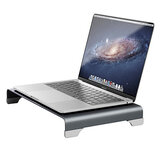 Vaydeer Monitor Laptop Stand Tutto in lega di alluminio Wireless Charge 4K HDMI USB3.0 WLAN TYPE-C Riser Organizzatore per l'home office