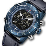 NAVIFORCE NF9144 Resistente all'acqua LED Orologio doppio Display