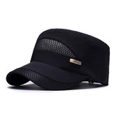 Unisex Mesh Quick-drying Vintage Flat Hats